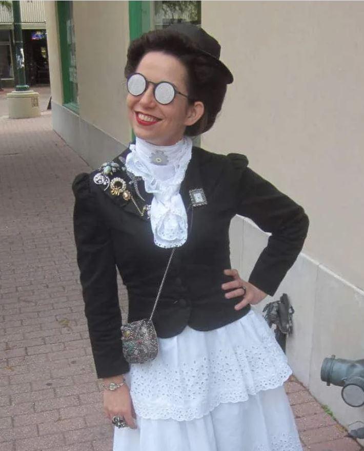 femme victorienne steampunk